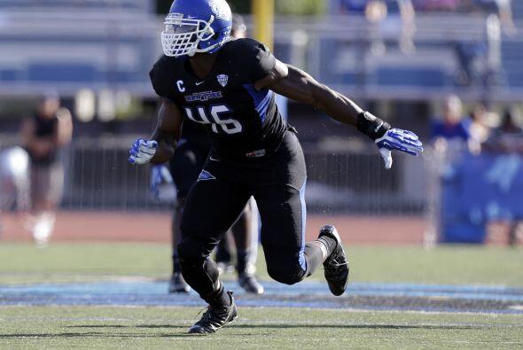 Con la tercera selección, los Jacksonville Jaguars eligen Khalil Mack, O...