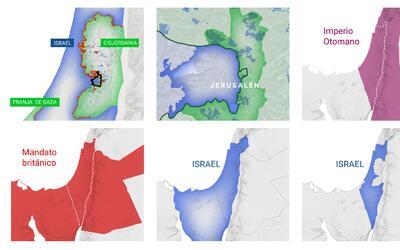 En solo cien años la región histórica de Palestina...