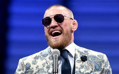 "Conor McGregor se burla de Floyd Mayweather Jr. llamándolo ""..."