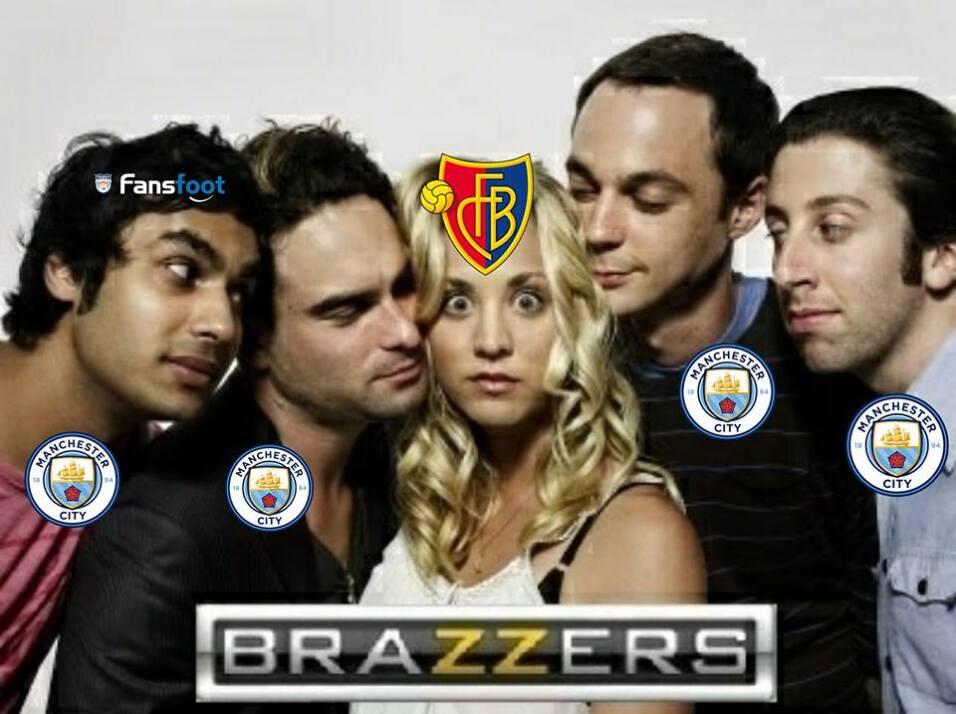 Manchester City golea al Basel y pone pie y medio en cuartos de final 28...