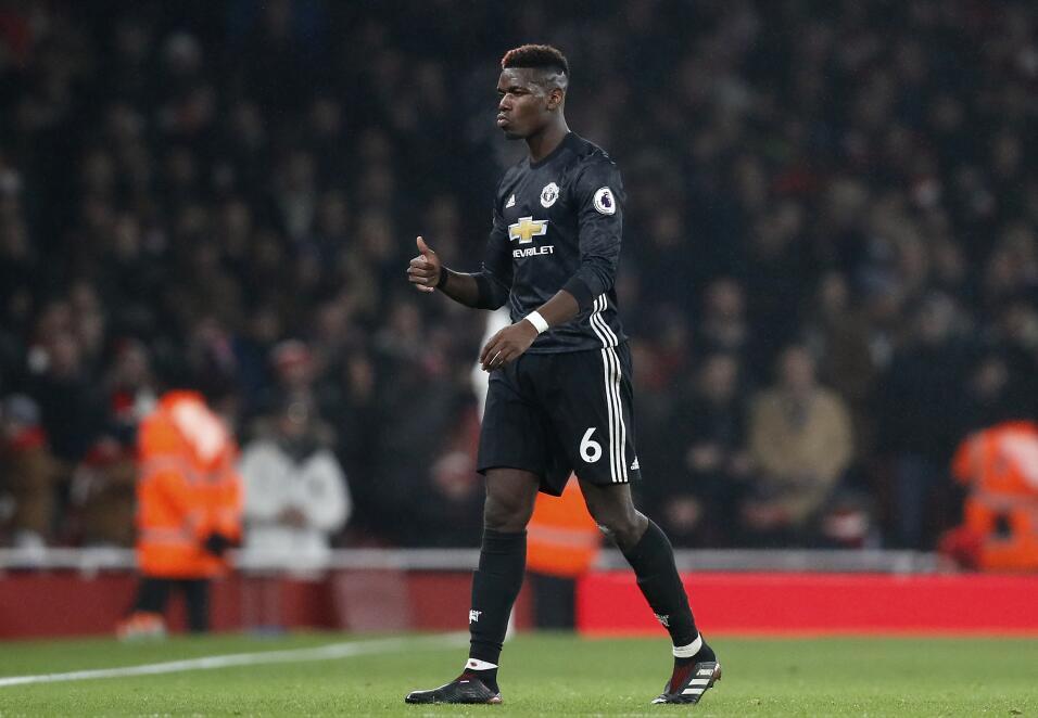 12. Paul Pogba (Manchester United / Francia) - 9 puntos
