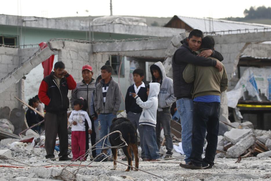Explosión México Puebla