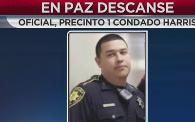 Oficiales del precinto 1 del condado Harris le dijeron adiós a uno de lo...