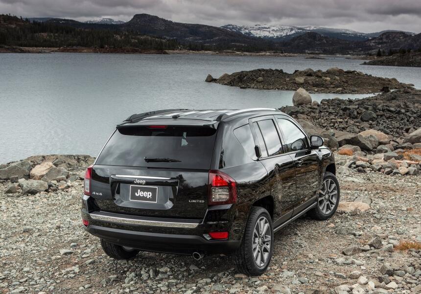 La Jeep Compass está disponible en versiones Latitude, Sport y Limited,...