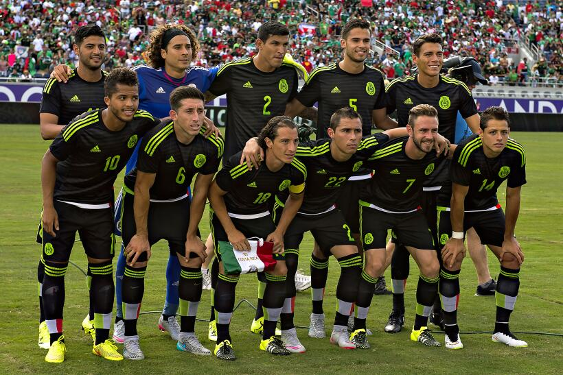 México vs. Costa Rica amistoso 2015