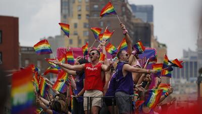 Así se vio el desfile del orgullo gay en la gran manzana (Fotos)