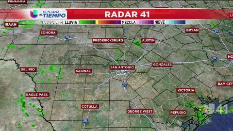 Vuelve la lluvia a San Antonio esta semana