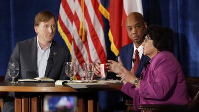 Inmigración y aborto: los temas que enfrentaron en el debate a los aspirantes demócratas a la gobernación de Texas