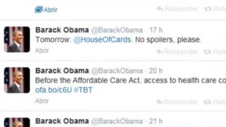 La petición de Barack Obama.