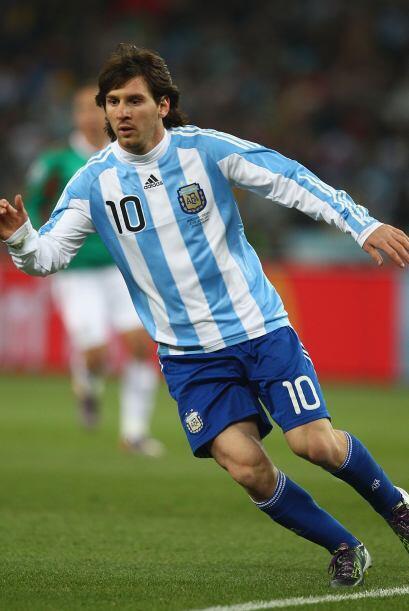 El equipo está lleno de estrellas como Higuaín, Tévez, Mascherano, Di Ma...