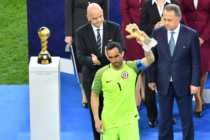 Alemania ganó el título que le faltaba, la Confederaciones Getty Claudio...