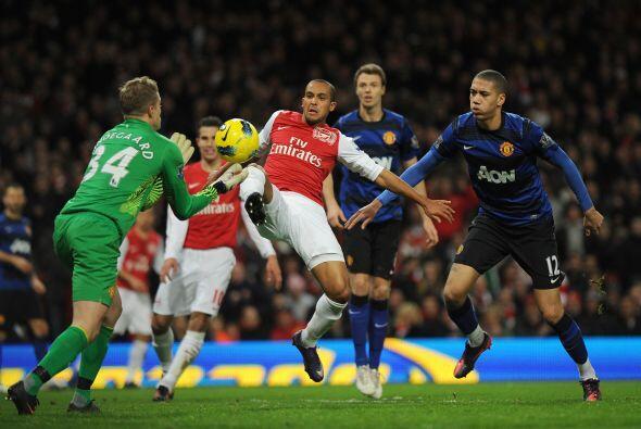 Arsenal aún intentó ir de nueva cuenta por el empate, pero la fortuna no...