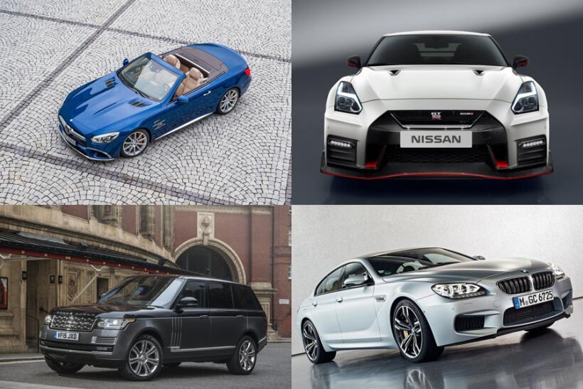 Estos son los 10 autos más caros de asegurar