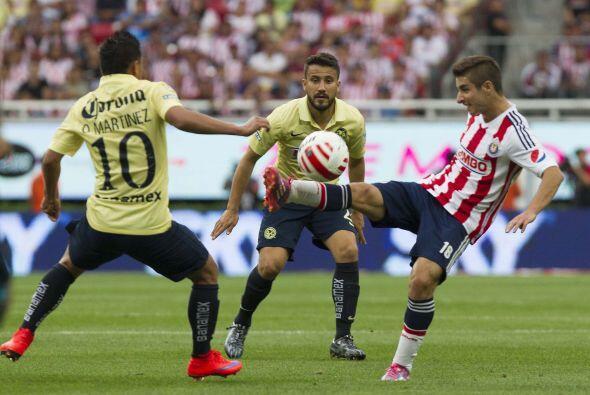 18.- Isaac Brizuela: El 'Conejito' no tuvo el mejor de sus partidos fall...