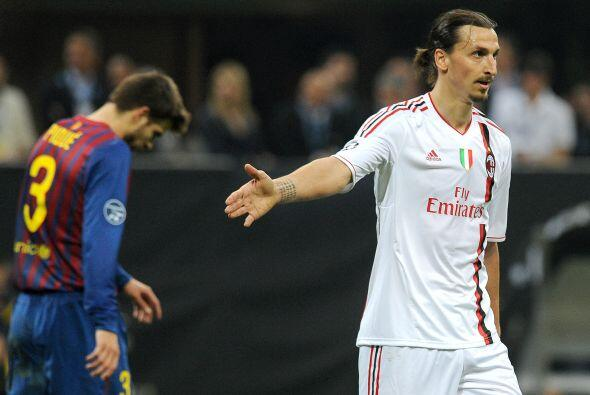Por su parte, el Milan viaja a Barcelona con sus esperanzas puestas en e...