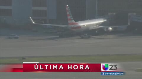 Detienen en Miami avión comercial procedente de París