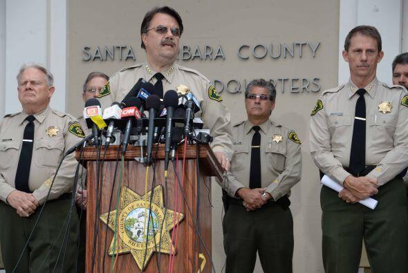 Segú AFP, el jefe de Policía del condado de Santa Barbara,...