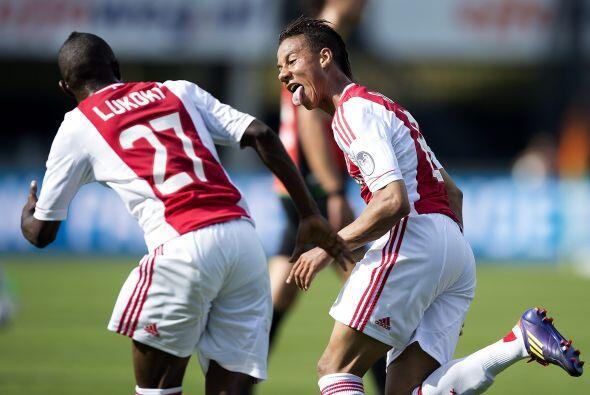 Mediocampista, Tobias Sana, El jugador del Ajax fue vital en el triunfo...