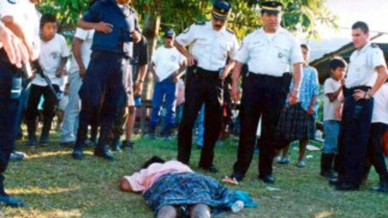 En el 2010 se registraron 12 linchamientos en Huehuetenango, Guatemala,...