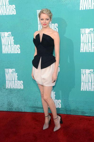Emma Stone volvió a imponer en 2012 con su exquisito gusto por la moda....