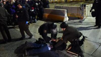 El jefe de la policía de Nueva York, Bill Bratton, admitió que la víctim...
