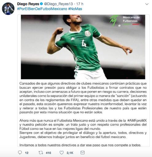 El Tri respalda a Oswaldo Alanís en su lucha con las directivas de Chiva...