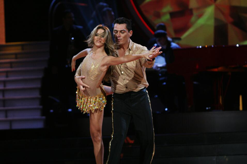 José Manuel Figueroa y Emilia Clement.