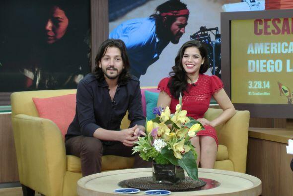 La guapa actriz de origen hondureño interpreta a la esposa del fa...