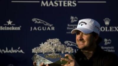 El norirlandés se llevó una bolsa de $697 mil con su tercera victoria de...