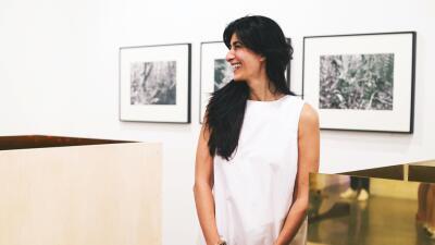 Abaseh Mirvali, curadora de arte.