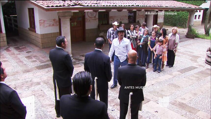 Los Carmona y los Velasco dijeron bye, bye