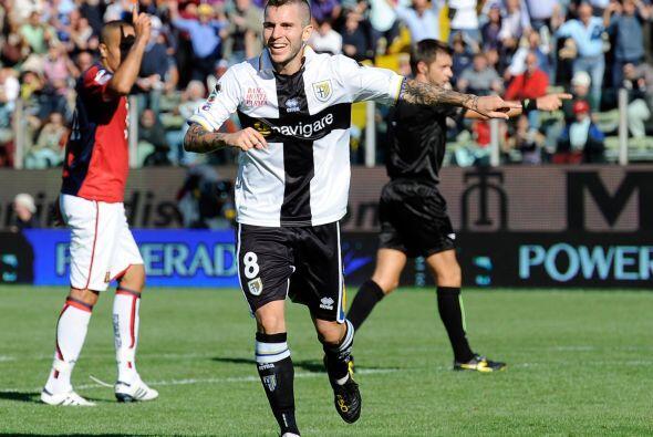Pero en el segundo tiempo Zaccardo puso cifras definitivas para el 1-1.