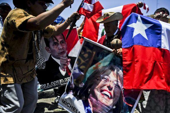 """Pero el jefe de la delegación chilena, Alberto van Klaveren Sort, """"lamen..."""