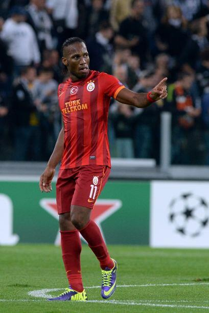 El delantero del Galatasaray no perdonó.