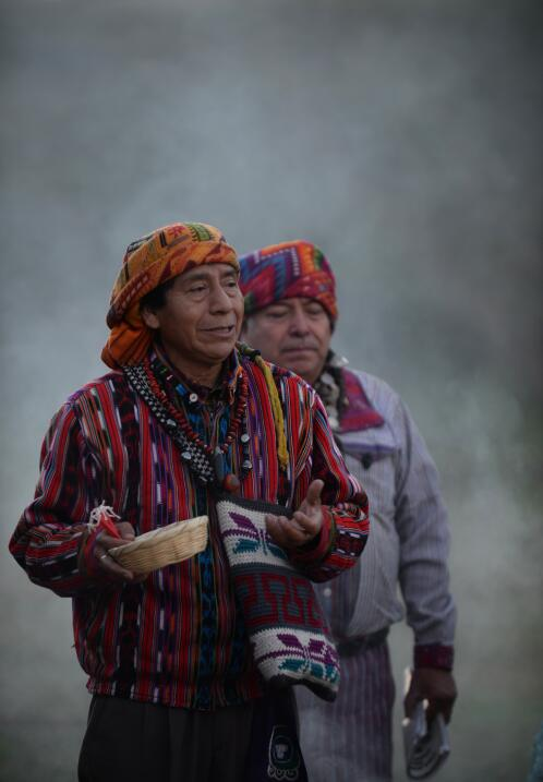 Así se realiza un típico ritual maya
