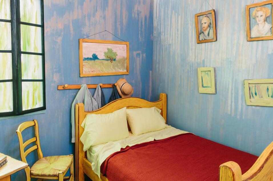 Reproducción del cuarto de Van Gogh