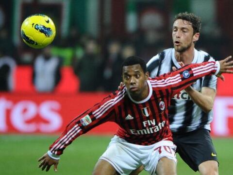 El Milan recibió la visita de la Juventus en un clásico ll...