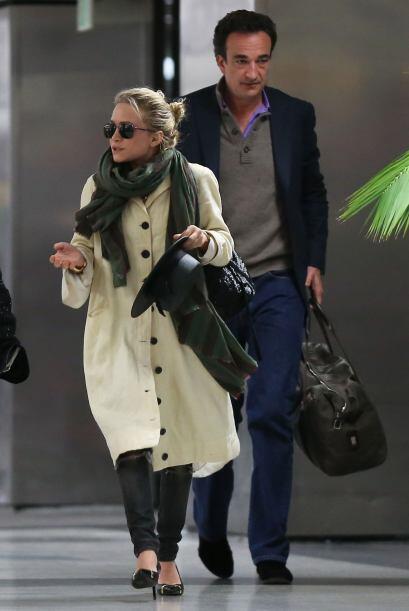 ¿Será el 'glamour' de los franceses lo que cautivó a la bella actriz fan...