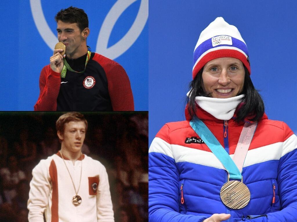 El Top 5 de atletas con más medallas olímpicas tiene un nuevo nombre unt...