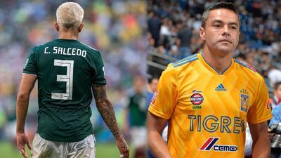 Salcedo heredaría la playera #3 de Juninho y firmaría por cuatro años con Tigres
