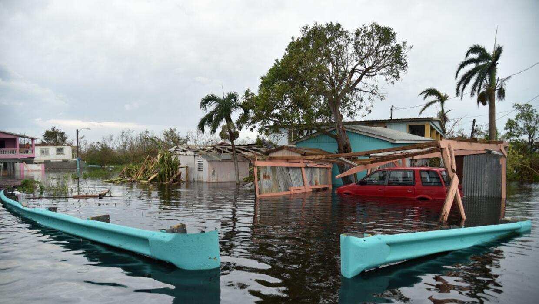 El huracán María ha causado graves inundaciones en Puerto Rico.