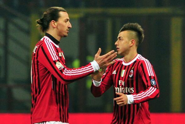 Milan llegó al empate con un gol del Stephan El Shaaraw, luego de un cen...