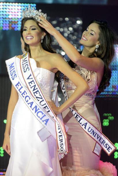 En Miss Venezuela también era una de las grandes favoritas para llevarse...