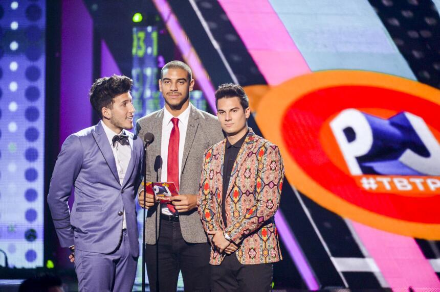 Sebastian Yatra, Manuel Medrano y Pipe Bueno presentaron a los nominados...