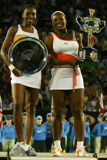 Serena superó en posición a Venus derrotándola en cuatro finales consecu...