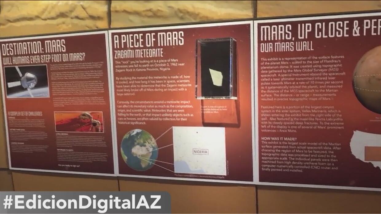 Conoce más del espacio exterior en el Planetario de la Universidad de Ar...