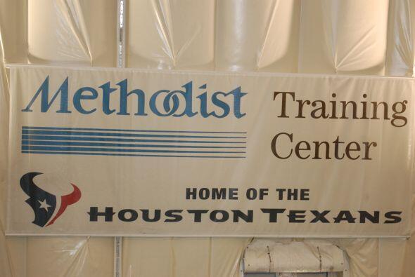 El plantel entrenó en el Methodist Training Center, parte del complejo e...