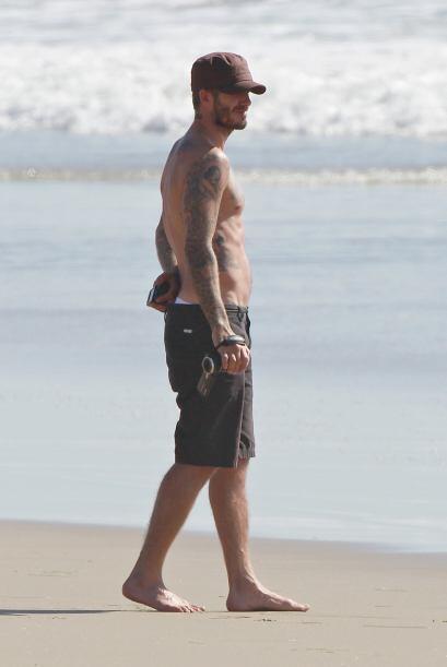 Las playas de Malibú fueron el escenario perfecto para que este hombre m...
