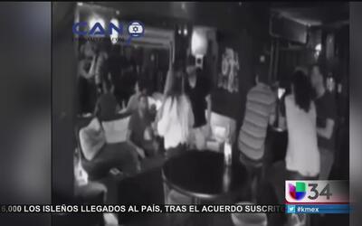 Mujer se defendió de tres atacantes