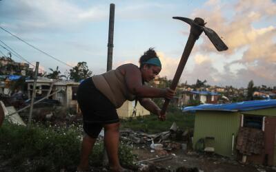 Imágenes de Puerto Rico tras el paso del huracán María